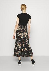 ONLY - ONLZILLE NAYA SKIRT - Maxi skirt - black - 2