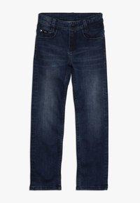 BOSS Kidswear - Jeans straight leg - stone pulverisation - 0