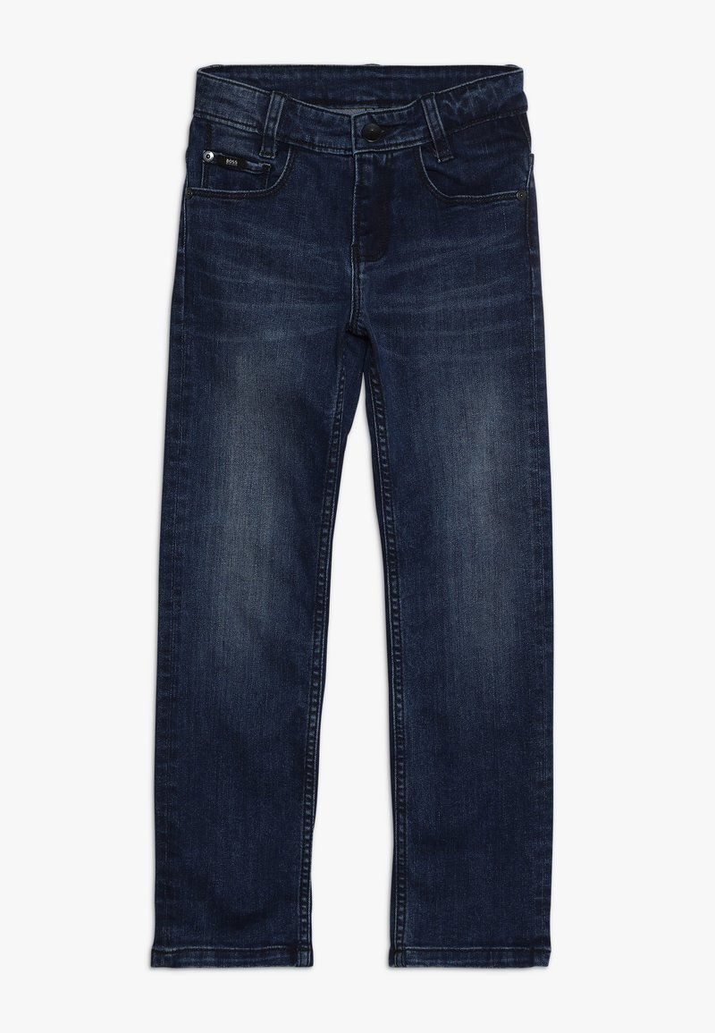 BOSS Kidswear - Jeans straight leg - stone pulverisation