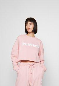 Missguided - PLAYBOY LONG SLEEVE LOUNGE  - Sudadera - pink - 0