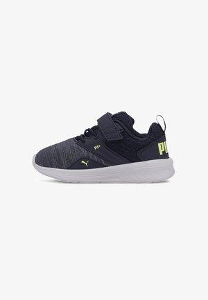 Baby shoes - peacoat-sharp green-white