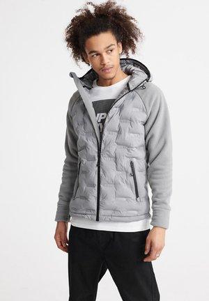 SUPERDRY RADAR QUILT HYBRID JACKET - Light jacket - neutral grey