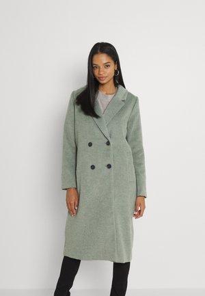 Classic coat - khaki green dusty light
