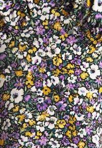 Missguided - MILKMAID SKATER DRESS FLORAL - Kjole - purple - 2