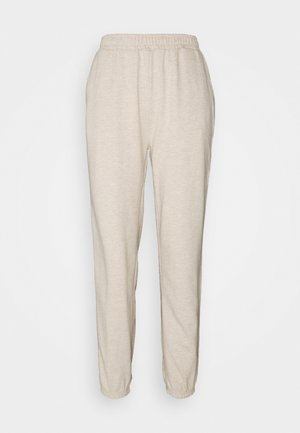 Regular fit joggers without drawstring - Tracksuit bottoms - beige