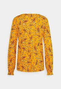 TOM TAILOR - LEAVE - Top sdlouhým rukávem - yellow - 1