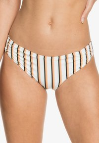 bright white louna stripes