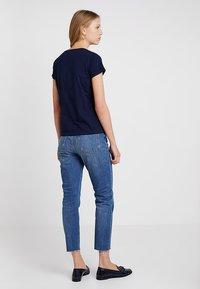 GANT - ARCH LOGO - Print T-shirt - evening blue - 2