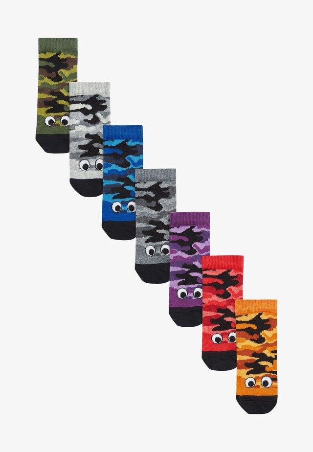 7 PACK  - Ponožky - purple