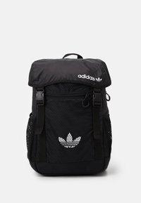 adidas Originals - TOPLOADER UNISEX - Rucksack - black/white - 0