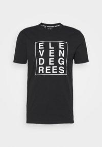 BOX GRAPHIC - T-shirt con stampa - black