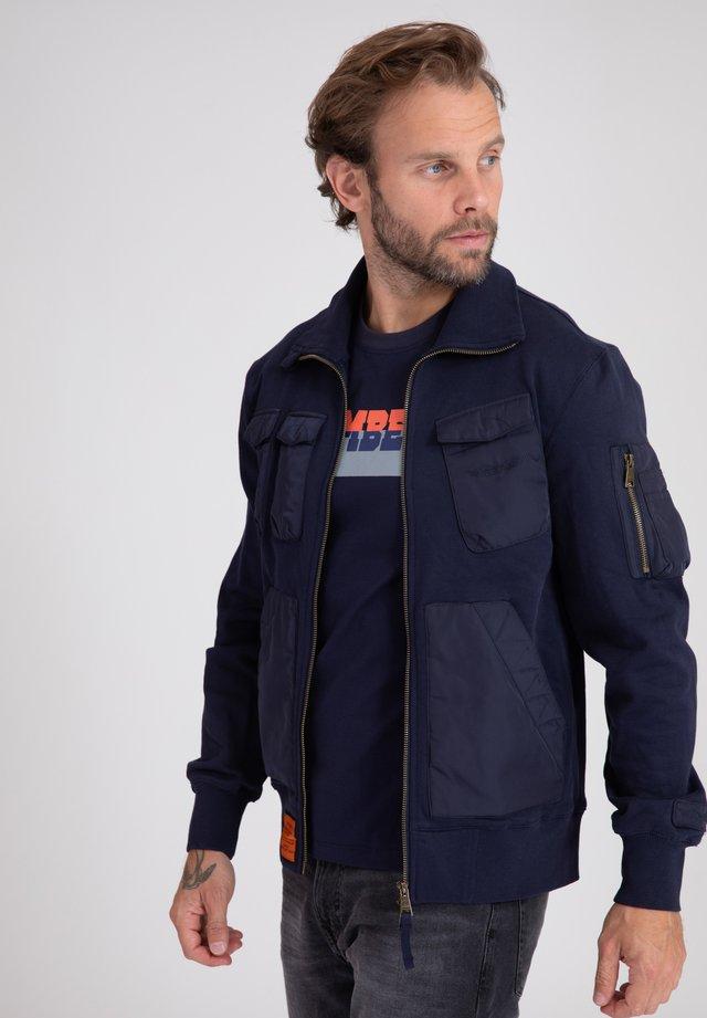 LANGER - Sweatshirt - navy