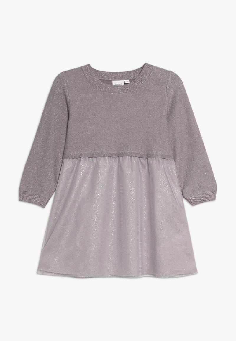 Name it - NMFSALINA DRESS - Vestido de cóctel - sea fog