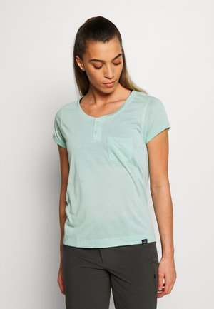 CAP COOL TRAIL BIKE - Basic T-shirt - gypsum green