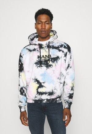 RETRO TIE DYE OVERSIZE HOODIE UNISEX - Sweatshirt - multicolor