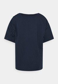 Lauren Ralph Lauren Woman - LAFREYA SHORT SLEEVE - T-shirt basic - french navy/pale cream - 7