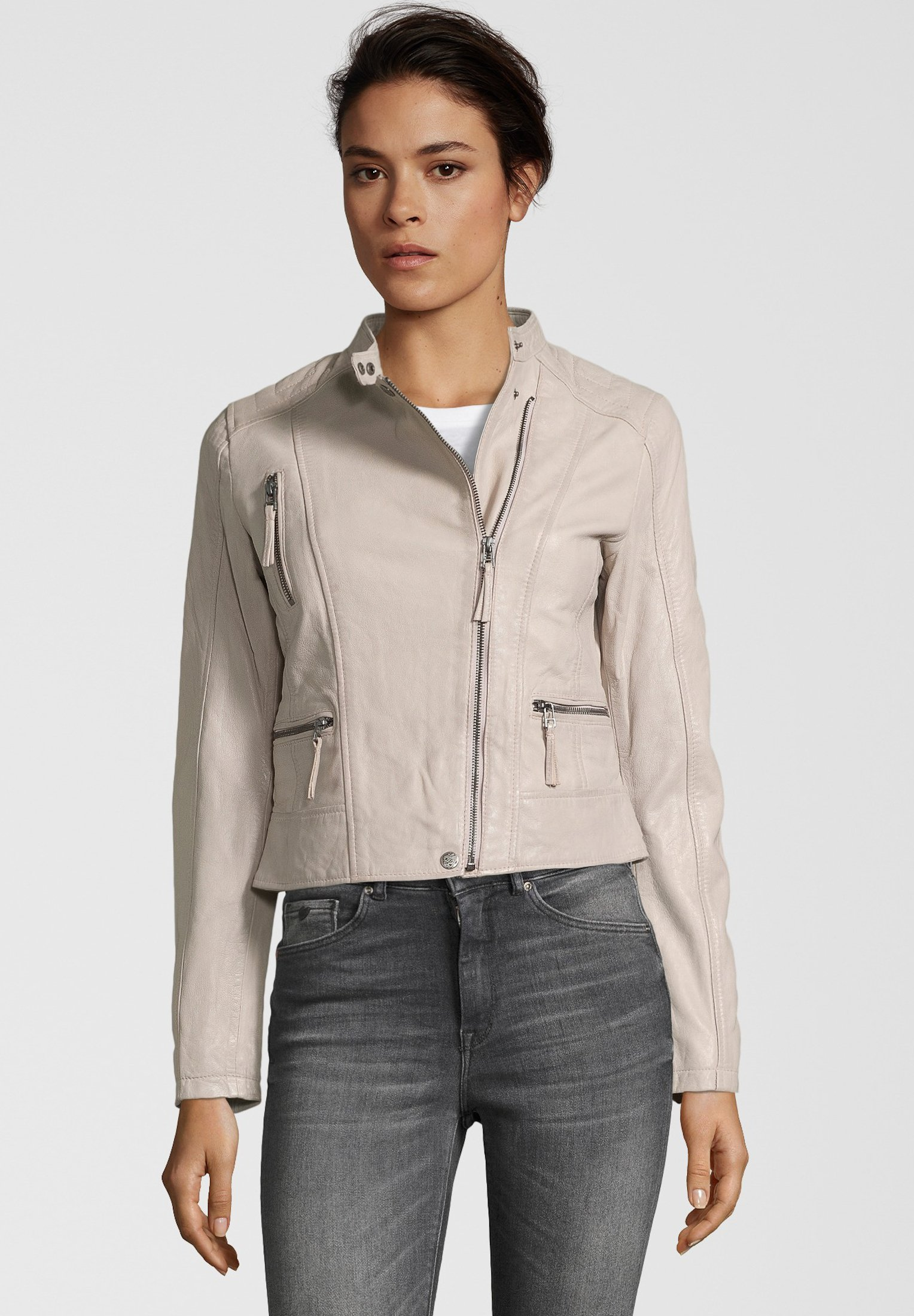 Femme LEDERJACKE BAGEL - Veste en cuir