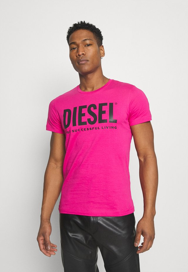 T-DIEGO-LOGO - T-shirts med print - pink