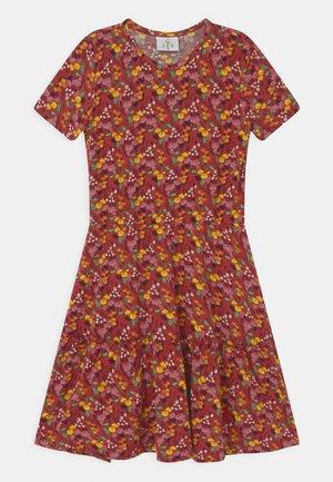 URI  - Jersey dress - mineral red