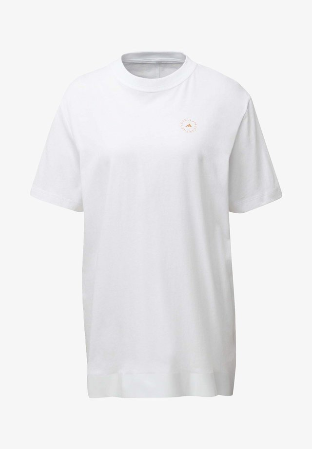 COTTON T-SHIRT - T-shirt con stampa - white