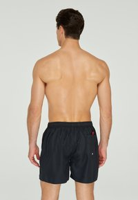 Marc & André - COLORFUL SWIMMING SHORTS - Swimming shorts - black denim - 3