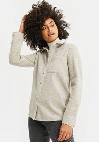 WE Fashion - Button-down blouse - beige - 3