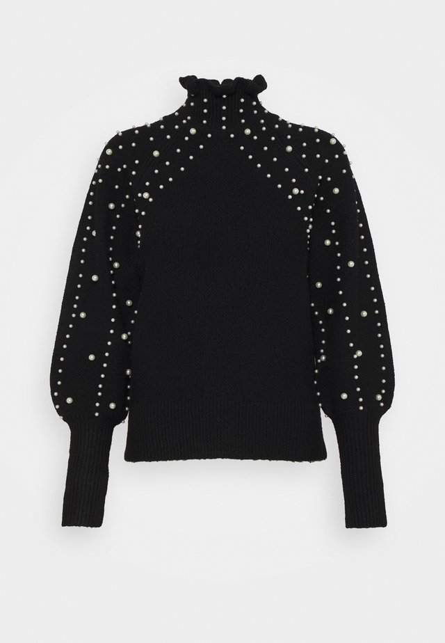 PEARL PIE CRUST JUMPER - Jumper - black