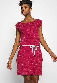 Ragwear - TAG - Žerzejové šaty - red - 3