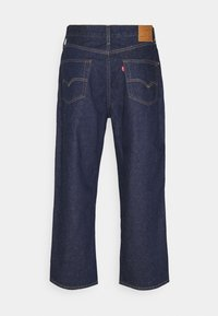 Levi's® - STAY LOOSE PLEATED CROP - Relaxed fit -farkut - dark indigo - 6