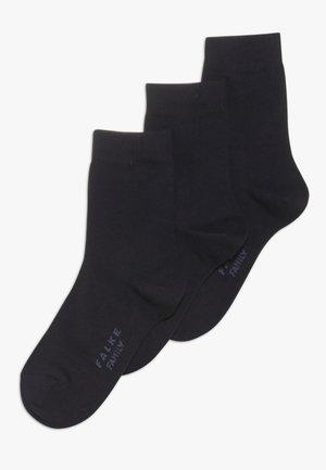 FAMILYBUNDLE 3 PACK - Socks - darkmarine