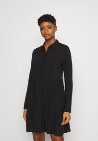 Even&Odd - Shirt dress - black - 0