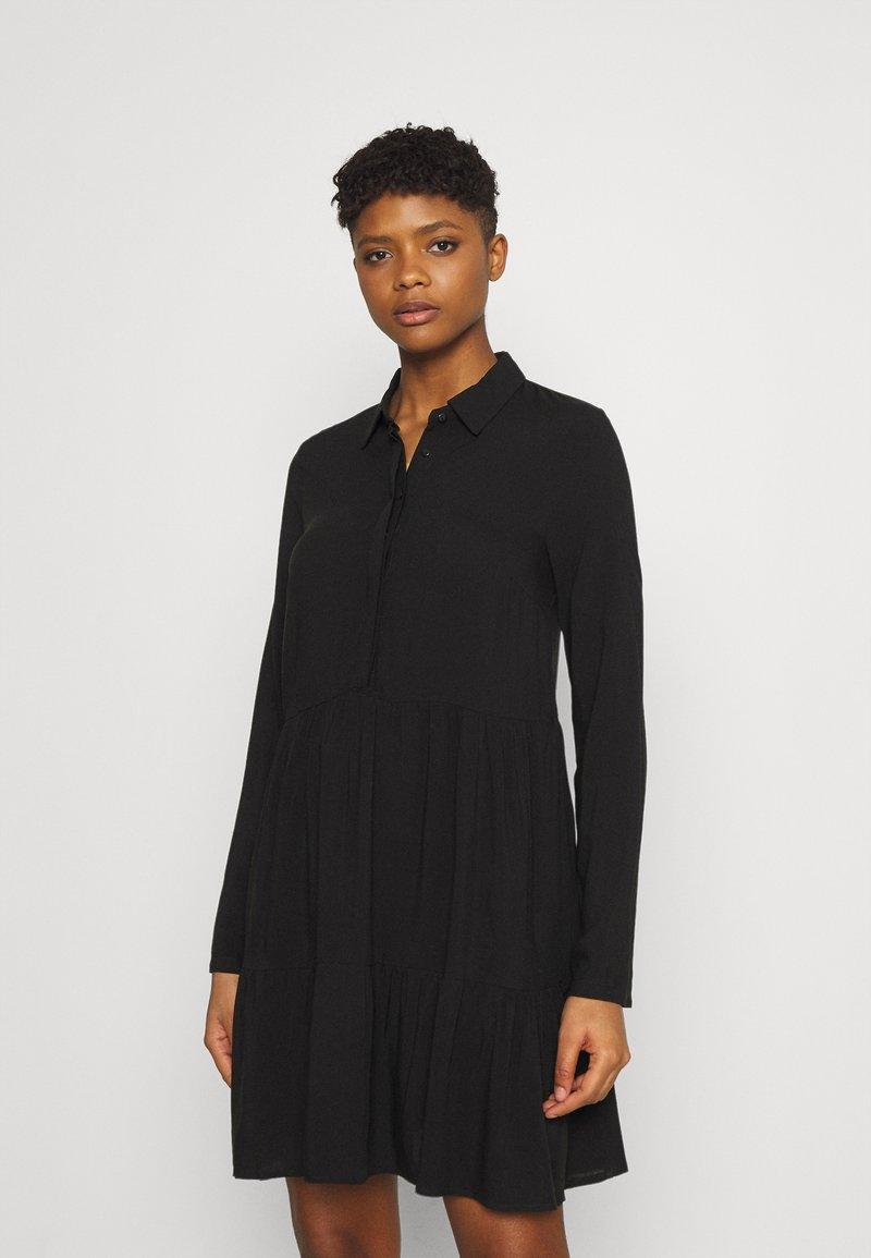 Even&Odd - Shirt dress - black