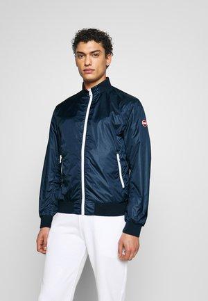 MENS REVERSIBLE - Summer jacket - navy blue