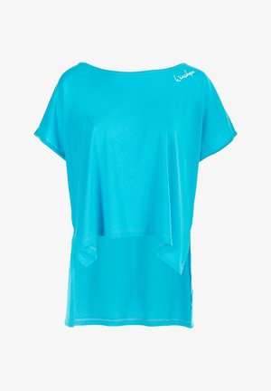 MCT010 ULTRA LIGHT - Print T-shirt - sky blue