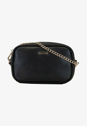 Across body bag - schwarz und gold