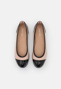 Anna Field - Ballerina's - black/light pink - 5