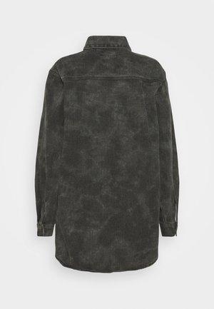 TIE DYE CAMO - Overhemdblouse - black