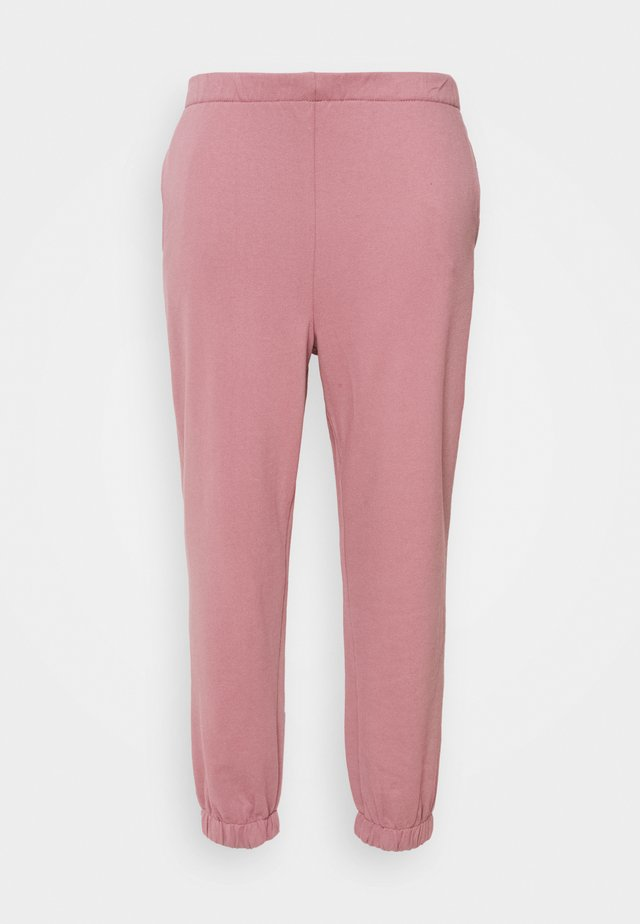 HIGH RISE TRACKPANT - Tracksuit bottoms - pink