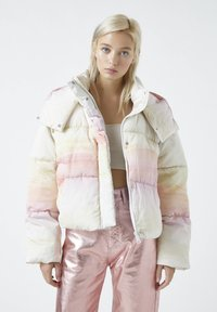 PULL&BEAR - Winter jacket - mottled purple - 0