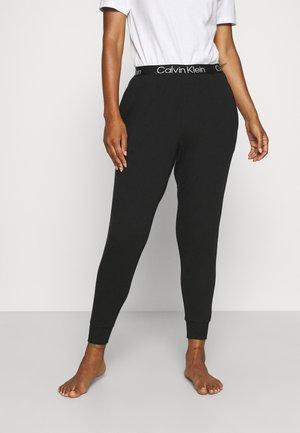 MODERN STRUCTURE JOGGER - Spodnie od piżamy - black