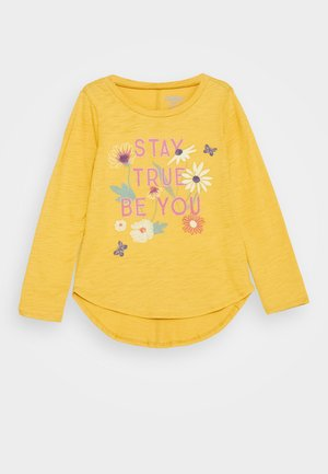 CANADA TULIP HEM - Long sleeved top - yellow