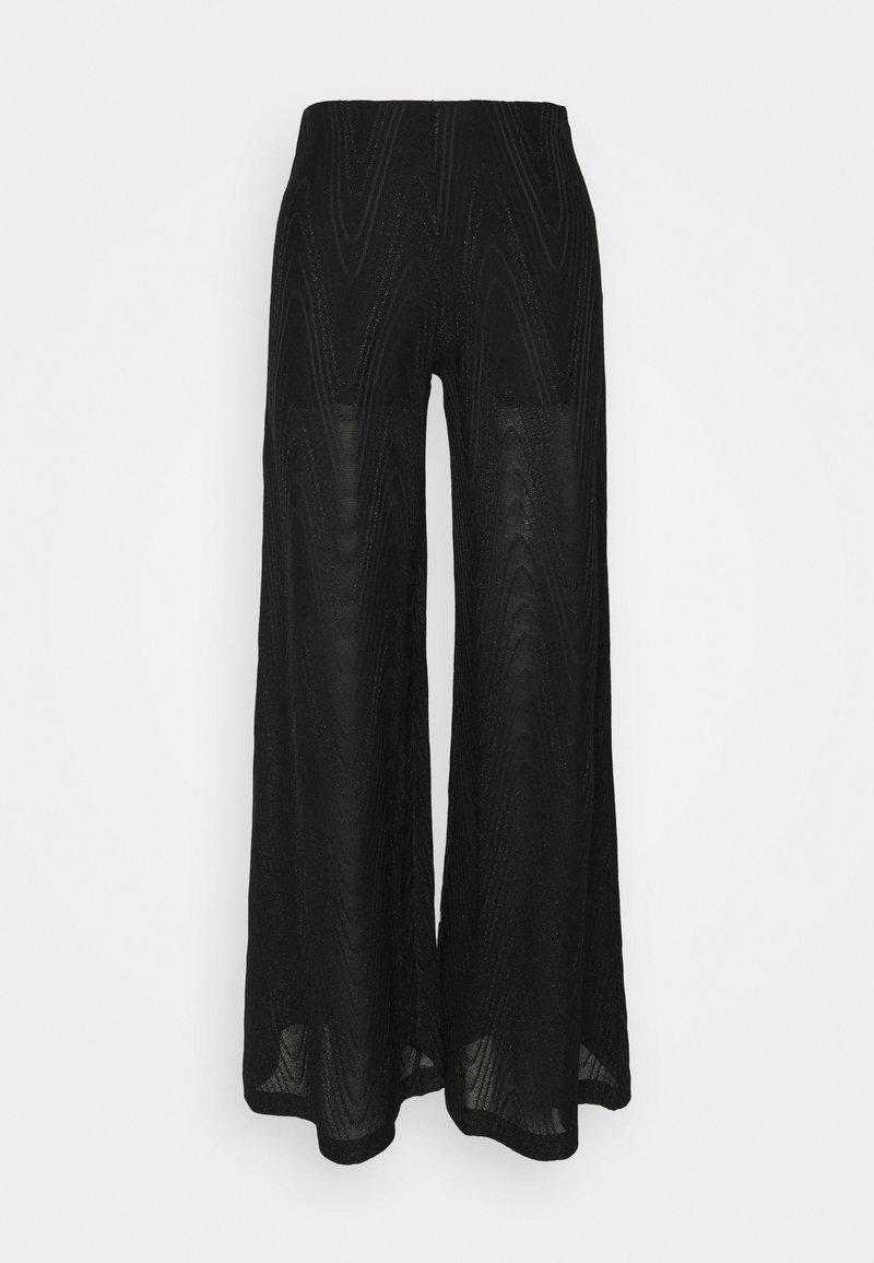 M Missoni - PANTALONE - Trousers - black