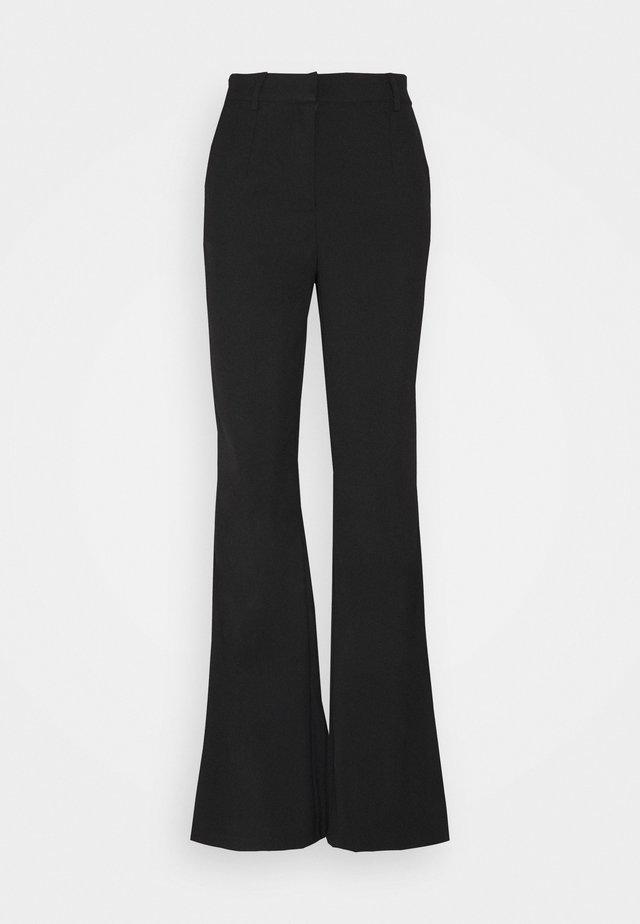 YASEBBA FLARED PANT TALL - Pantaloni - black