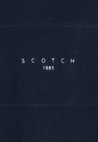 Scotch & Soda - CUT AND SEWN BRUSHED FELPA CREWNECK - Sweatshirt - dark blue - 2