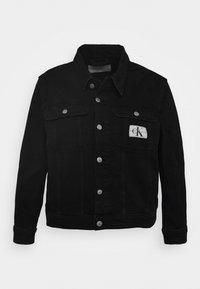 Calvin Klein Jeans Plus - 90S TRUCKER - Denim jacket - black denim - 4