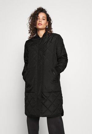SLFNATALIA QUILTED COAT - Bomber Jacket - black