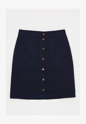 DENBY - Pencil skirt - dunkles marineblau