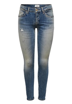 SKINNY FIT JEANS ONLALBA REG ANKLE - Jeans Skinny Fit - medium blue denim