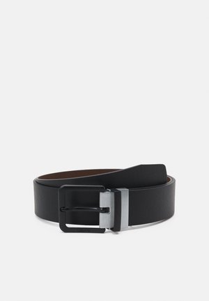 LOUIS REVERSIBLE BELT - Belt - regular black