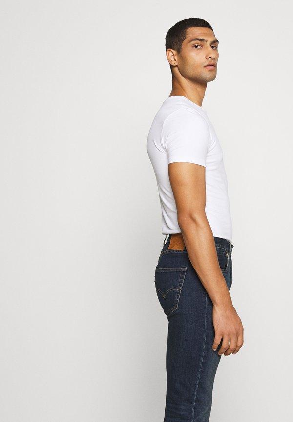 Levi's® 501® ORIGINAL FIT - Jeansy Straight Leg - block crusher/ciemnoniebieski Odzież Męska VXHS